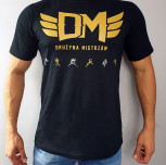 "T-shirt DM ""TCM 2018"" silver black"